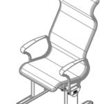 G-Force High Back Passenger Seat Static (2)