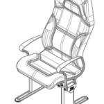 LuxForm Travel Passenger Seat High Back
