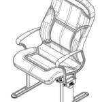 LuxForm Travel Passenger Seat Medium Back