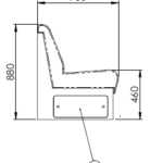 Marine Lounge Interior Bench Seat
